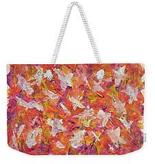 Piecefall  Weekender Tote Bag