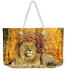 Pieces Of A Lion Weekender Tote Bag