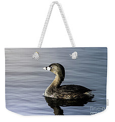 Weekender Tote Bag featuring the photograph Pied-billed Grebe by Robert Frederick