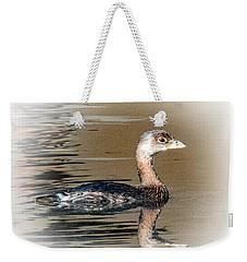 Pied-billed Grebe Weekender Tote Bag