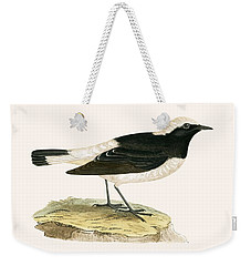Pied Wheatear Weekender Tote Bag by English School