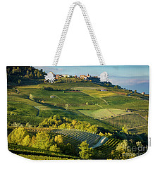 Weekender Tote Bag featuring the photograph Piemonte Countryside by Brian Jannsen