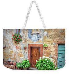 Pienza Street Scene Weekender Tote Bag