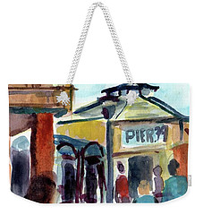 Pier 39 San Francisco Weekender Tote Bag by Tom Simmons