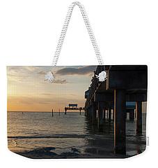 Pier 60 Sunset Weekender Tote Bag