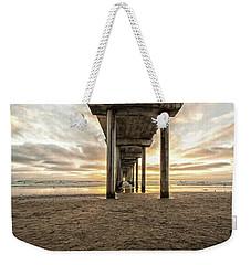 Pier And Clouds Weekender Tote Bag