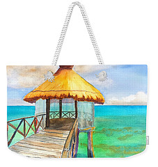 Pier Gazebo At Mayan Palace Weekender Tote Bag