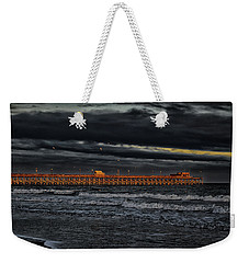 Pier Into Darkness Weekender Tote Bag