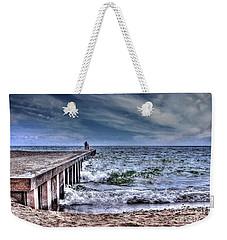 Pier On The Beach  Weekender Tote Bag