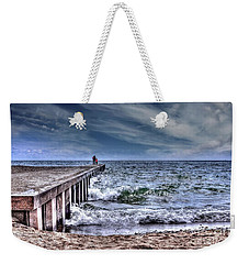 Pier On The Beach  Weekender Tote Bag