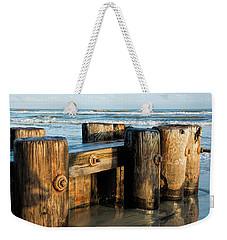 Pier Perspective Weekender Tote Bag