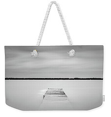 Pier Sinking Into The Water Weekender Tote Bag