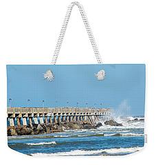 Pier Surf Weekender Tote Bag