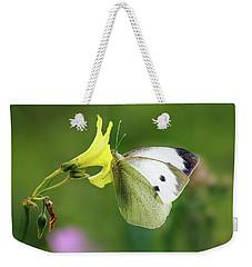 Pieris Rapae Weekender Tote Bag