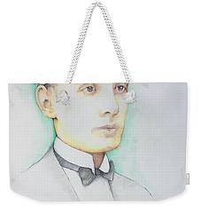 Pietro Minca 1926 Weekender Tote Bag