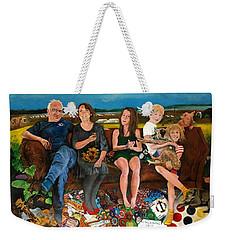 Family Weekender Tote Bag