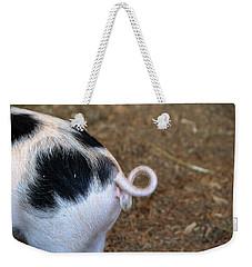 Pig Tail Weekender Tote Bag