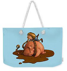 Pig Tales Weekender Tote Bag by Andy Catling