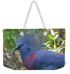 Pigeon Elegante Weekender Tote Bag by Judy Kay