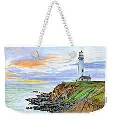 Pigeon Point Sunset Weekender Tote Bag