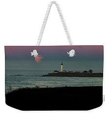 Pigeon Point Supermoonset Weekender Tote Bag