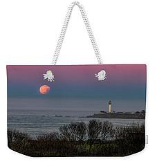 Pigeon Point Supermoon Weekender Tote Bag