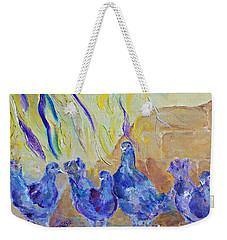 Pigeons Weekender Tote Bag