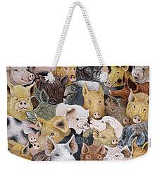 Pigs Galore Weekender Tote Bag
