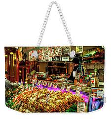 Pike Market Fresh Fish Weekender Tote Bag