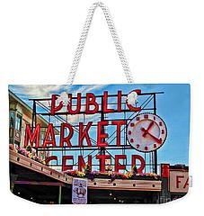 Pike Place Market Weekender Tote Bag