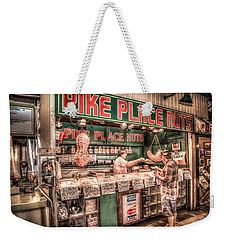 Pike Place Nuts Weekender Tote Bag