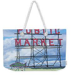 Pike Street Market Weekender Tote Bag