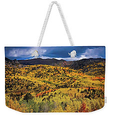 Pikes Peak Autumn Weekender Tote Bag
