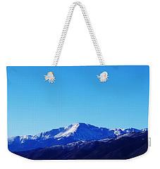 Pikes Peak Weekender Tote Bag by Joseph Frank Baraba