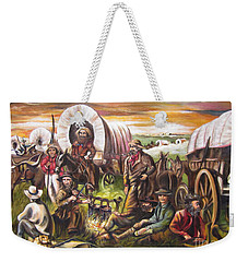 Pilgrims On The Plain Weekender Tote Bag