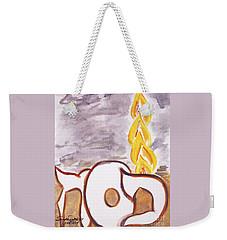 Pillar Of Fire Weekender Tote Bag