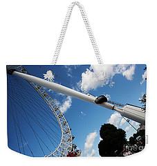 Pillar Of London S Ferris Wheel  Weekender Tote Bag