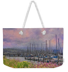 Pillar Point Harbor Weekender Tote Bag