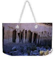 Pillars And Caves, Crowley Lake Weekender Tote Bag