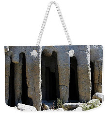Pillars At Crowley Lake Weekender Tote Bag