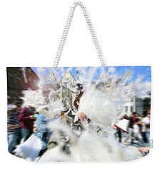 Pillow Fight Weekender Tote Bag by Ana Mireles
