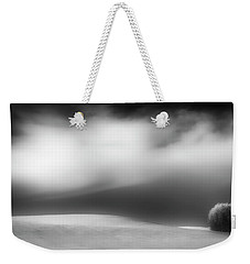 Weekender Tote Bag featuring the photograph Pillow Soft by Dan Jurak