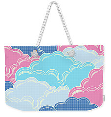 Pillows In The Sky Weekender Tote Bag