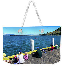 Pilot Bay 1 - Mount Maunganui Tauranga New Zealand Weekender Tote Bag