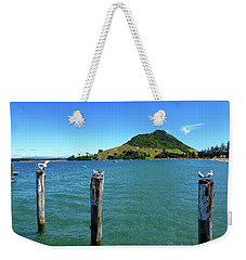 Pilot Bay Beach 3 - Mt Maunganui Tauranga New Zealand Weekender Tote Bag