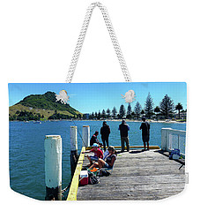 Pilot Bay Beach 7 - Mt Maunganui Tauranga New Zealand Weekender Tote Bag