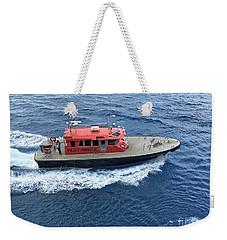 Pilot Boat In Bermuda Weekender Tote Bag