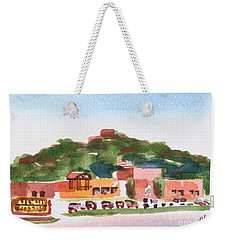 Weekender Tote Bag featuring the painting Pilot Knob Mountain W402 by Kip DeVore