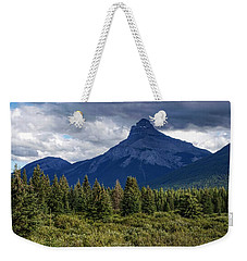 Pilot Mountain, Alberta Weekender Tote Bag