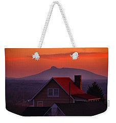 Pilot Sunset Overlook Weekender Tote Bag